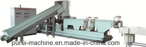 Plastic Recycling Granulator and PP Pull Strip Pelletizing Recycling Machine pictures & photos