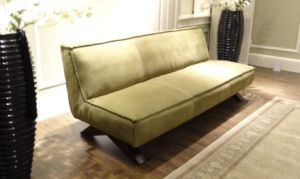 Leisure Top Qaulity Nubuck Leather Sofa (B25) pictures & photos