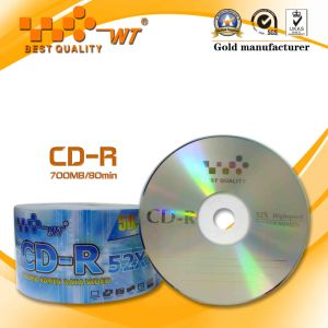 Blank CD-R 52x in 50PCS / Cake Box (WT)