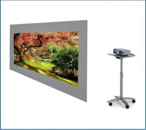 Rear Projector Screen