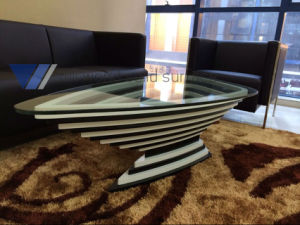 Antique Oval Dining Room Table, Artificial Marble Restaurant Table pictures & photos