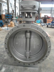 Casting Steel Butterfly Valve Dn700 Worm Operated pictures & photos