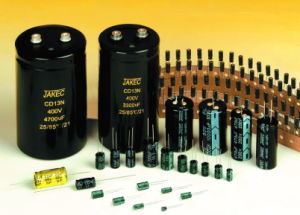 Aluminum Electrolytic Capacitors pictures & photos