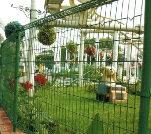 Double Circle Courtyard Fence (MH-13-45)