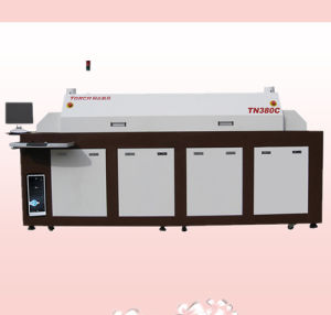Automatic SMT 8 Heating Zone Infrared Heating Reflow Oven Tn380c (TORCH) pictures & photos