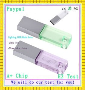 Full Capacity Lighting USB Flash Drive (GC-L983) pictures & photos