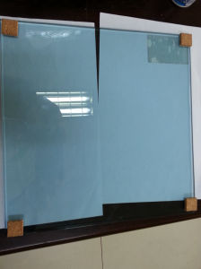 3-12mm Taiwan Blue Tinted Glass with Certificate
