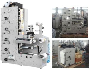 Automatic Flexo Printing Machine with Rotary Die Cutting Station (AC320-3B) pictures & photos