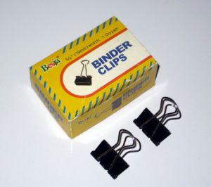 19mm Black Binder Clips (1005) pictures & photos