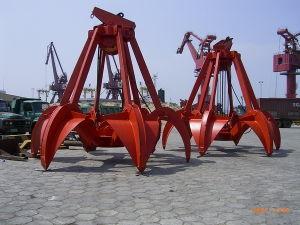 Mechanical Type Four Rope Orange Peel Grab pictures & photos