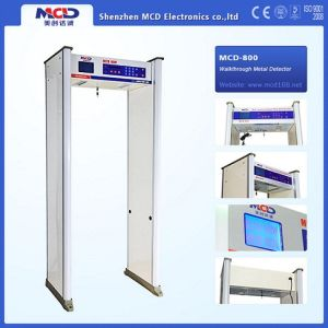 Archway Walk Through Metal Detector with Perfect Weather-Proofing Design for Outdoor Use