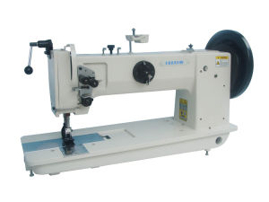 Long Arm Extra Heavy Duty Unison Feed Lockstitch Sewing Machine pictures & photos