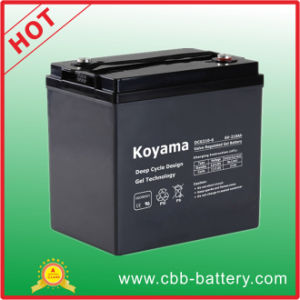 Good Quality Golf Cart Deep Cycle Gel Battery 210ah 6V pictures & photos