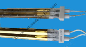Gold-Plated Film IR Lamp, Gold Coated Infrared Heating Tube pictures & photos