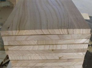 High Quality Paulownia Edge Glued Panel pictures & photos