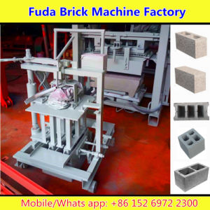 Qmr2-40 Small Movable Block Machine for Hollow Brick, Solid Brick pictures & photos
