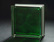 190*190*80mm Green in-Colored Cloudy Glass Block pictures & photos