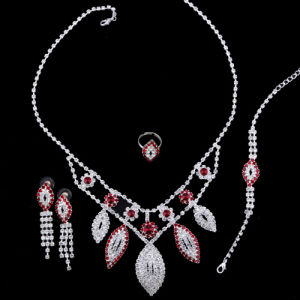Fashion Wedding Necklace Set (YCN0113)