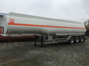 Low Price 6 Compartments 45000L Oil Tanker Semi Trailer pictures & photos