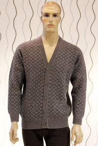Knitted Cardigan /85% Yak &15%Wool/Men′s Wool Sweaters/Yak Wool Sweaters/Clothing pictures & photos