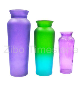 Glass Vase for Home Decoration (TM3518) pictures & photos