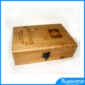 Nice Custom Bamboo Box for Tea Packing pictures & photos
