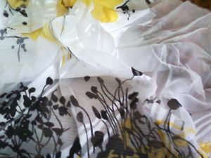 Silk Burnout Fabric / Printed Burn out Fabric