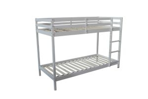 Pine Wood Bunk Simple Bed
