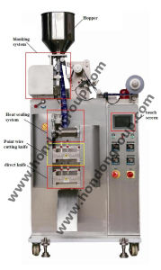 Granule Packing Machine with 3 Servo Motors (DXDK-40IV) pictures & photos