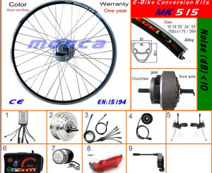 Electric Bicycle Kit DIY Your Bike to Electric Bike (MK515) pictures & photos
