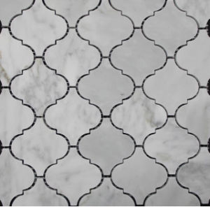 Hexagon/Basketweave/Herringbone/French Pattern Floor/Wall White Marble Tile Mosaics pictures & photos