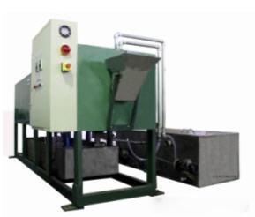 Semi-Round Tube Cleaning Machine