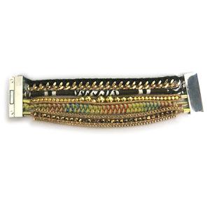 Fashion Magnetic Clasp Hipanema Handmade Bracelet (HBL-10845)