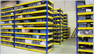 Ce Certified Medium Duty Warehouse Storage Long Span Shelving pictures & photos
