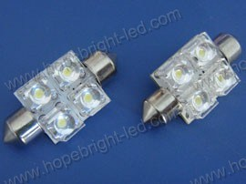 Festoon LED Automotive Lamp (F3604X-5MM)