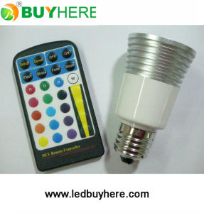 LED Dimmable LED Bulb, High Power RGB LED Lighting 5W RGB Spotlight