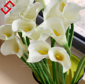 PE Artificial Calla Lily Home Bonsai Decoration Wedding Bunch Flower