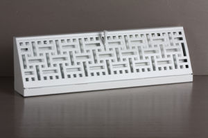 Baseboard Diffuser with White & Brown Durable Finish (303302) pictures & photos