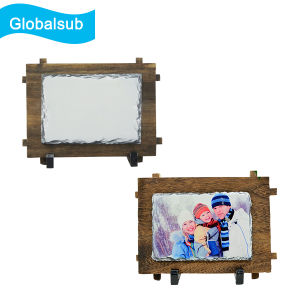 DIY Custom Personalized Photo Sublimation Slate Rock Frame pictures & photos