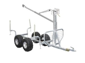 Galvanized Wood Trailer, Timber Trailer (WD-T05)