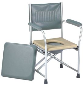 Aluminum Foldable Commode Chair with Armrest (SC-CC12(A)) pictures & photos