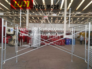 Waco Scaffolding Galvanized Access Walk Through Frame Scaffolding pictures & photos
