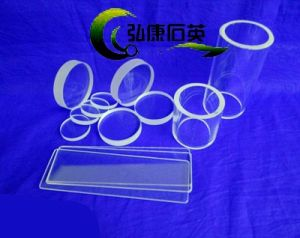 Quartz Window, Polished Quartz Disc, Quartz Plate Optical Fused Clear Quartz Plate pictures & photos