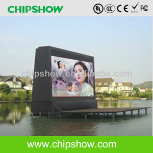 Chipshow Advertising P13.33 Full Color Outdoor Large LED Sign pictures & photos