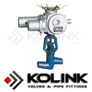 Actuated Globe Valve with PED/Ce, ISO, API pictures & photos