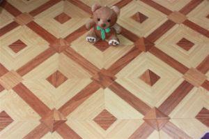 Parquet Style Laminate Flooring 815 pictures & photos