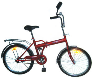 "24"" Steel Frame Folding Bike (FM24) pictures & photos"