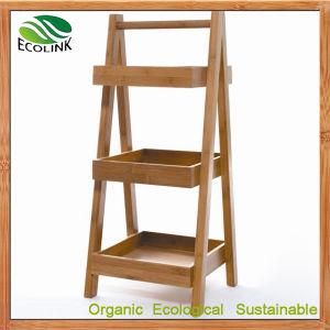 Bamboo Storage Shelf Racks Bamboo Bathroom Rack pictures & photos