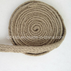 "Wholesale 0.5"" Jute Braided Webbing pictures & photos"