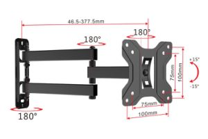 "100*100 Cantilever LCD LED TV Wall Bracket for 13""-27"" TV"